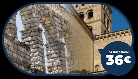 Tour Ávila y Segovia desde Madrid